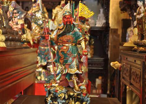 Fengshui Jendral Kwan Kong Guan Yu Kuan Kung Naik Kuda Kebijaksanaan 68cm nine guan gong god of wealth wu cai shen kuan kong feng shui decoration company