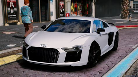 Audi R8 V10 Tuning by Audi R8 V10 Plus 2017 Add On Replace Tuning 1 7 For