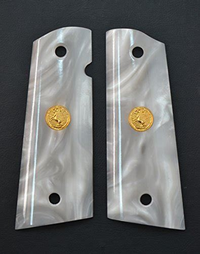 Grip Sinagawa Brng Thailand colt 1911 white pearl grips buy in uae products in the uae see prices reviews and