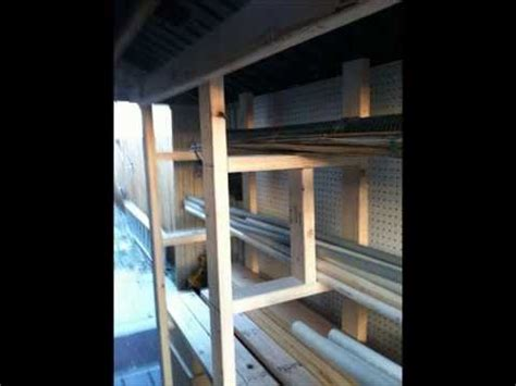 free standing lumber storage rack how to build a pipe and lumber rack free standing for your