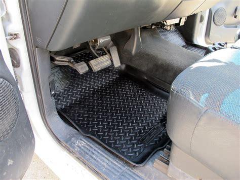 2002 Chevy Silverado Floor Mats by 2002 Chevrolet Silverado Floor Mats Husky Liners