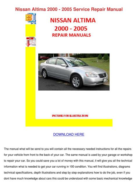 pdf books installation manual 2002 2006 nissan altima quicklift guide system car manual ebook service manual service manual for a 2005 nissan altima pdf ebook 2005 nissan altima owners