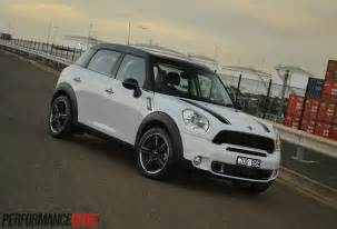 2014 Mini Cooper S Countryman 2014 Mini Countryman Cooper S Review Performancedrive