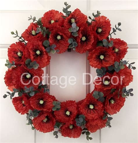 Poppy Home Decor by The 25 Best Poppy Wreath Ideas On Pinterest Veterans
