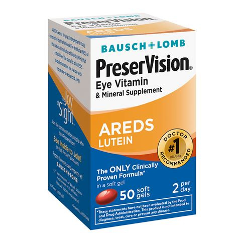 Vitamin Lutena preservision eye vitamin and mineral supplement with areds lutein softgels walgreens