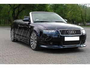 audi a4 b6 8h convertible j style front bumper extension