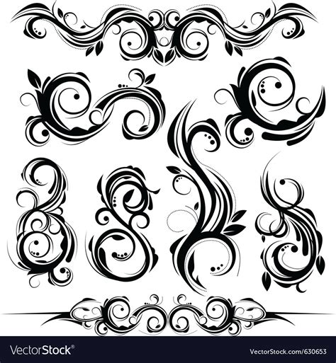 royalty free vector ornamental with 343155995 stock floral ornaments royalty free vector image vectorstock