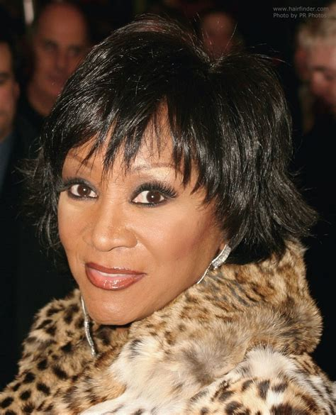 Patti Labelle Hairstyles by Patti Labelle With Hair In A Shag Style