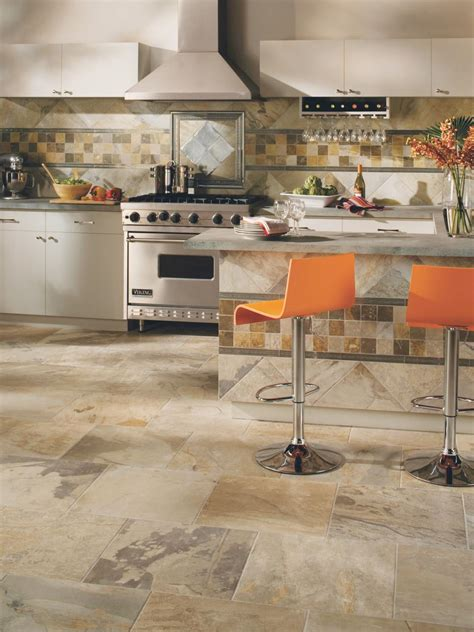 ceramic tile designs for kitchens gorgeous kitchen floors hgtv