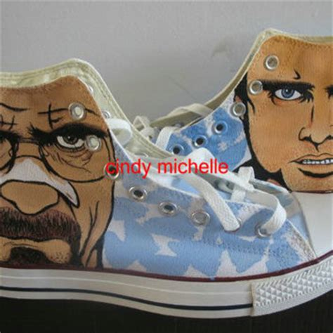 custom converse breaking bad walter white from
