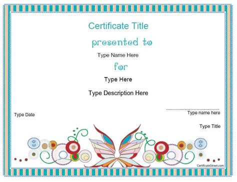 free blank certificate template 25 unique blank certificate ideas on blank