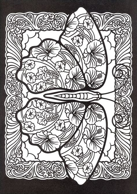 stained glass mandalas an educational coloring book books fanciful butterflies stained glass coloring book