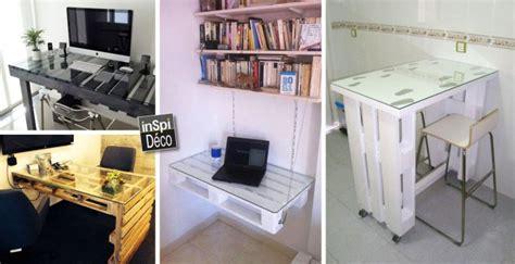 construire bureau fabriquer un bureau avec des palettes 20 id 233 es