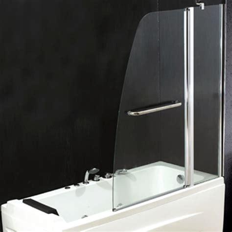 vetri per bagno box parete a 2 ante per vasca da bagno con vetro