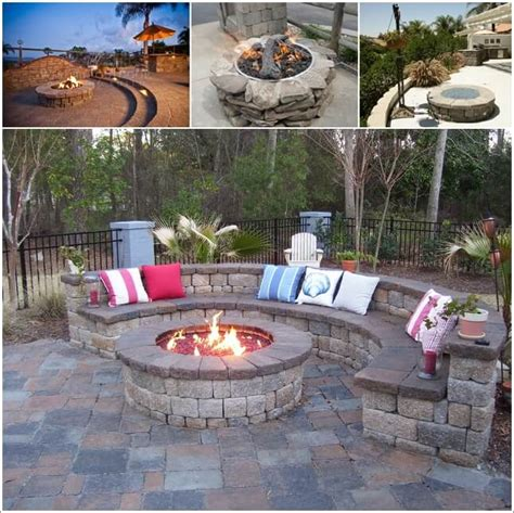 outdoor firepit designs outdoor rock pit pictures modern patio outdoor