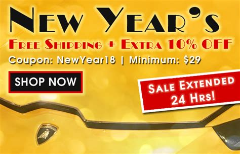 new year free delivery new year s free shipping 10 extended myg37