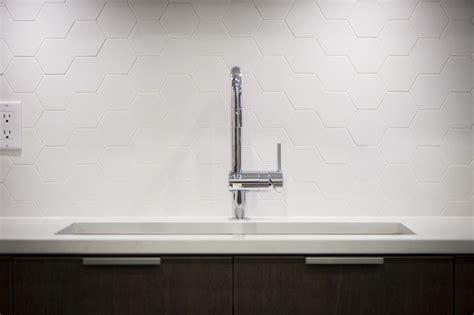 large white hexagonal tile backsplash hodge podge white honeycomb tile backsplash design ideas