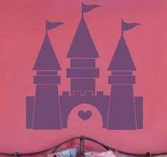 Roommates Repositionable Childrens Wall Stickers fairy tale princess castle decal vinyl stencil princess