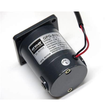 Motor Dc 12 Volt 60mm 6 watt dc geared motor 12v 24v