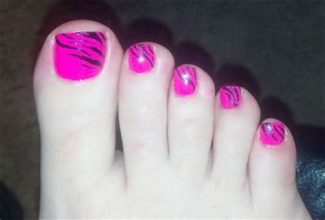 cool pretty toe nail designs ideas for beginners