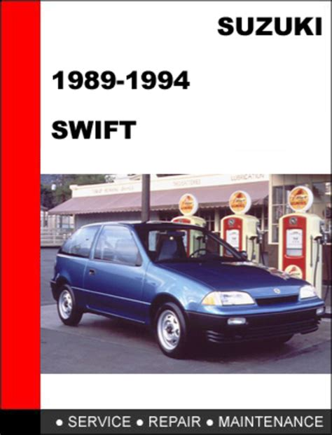 free car manuals to download 1993 suzuki swift interior lighting suzuki swift gti 1989 1994 service repair manual download downloa