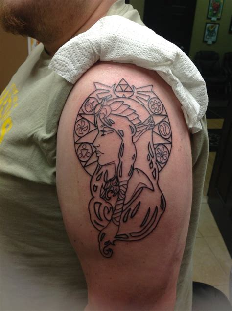 art nouveau tattoo princess nouveau by brownsbacker4evr on