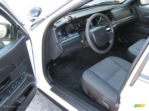 Ford Interceptor Interior by Charcoal Black Interior 2008 Ford Crown