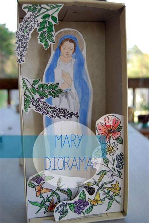 catholic crafts best 25 diorama ideas on diorama shoebox