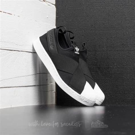 Termurah Sepatu Adidas Superstar Slip On W Black Premium Wanita adidas superstar slip on w black ftw white footshop
