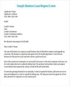 Loan Business Letter Formal Request Letters