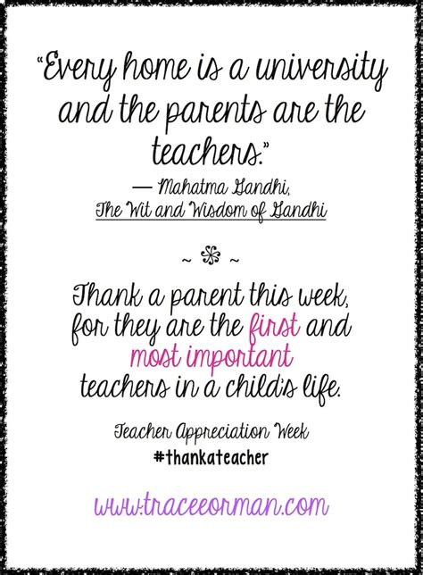 thank you letter for parents quotes thank you quotes from parents quotesgram