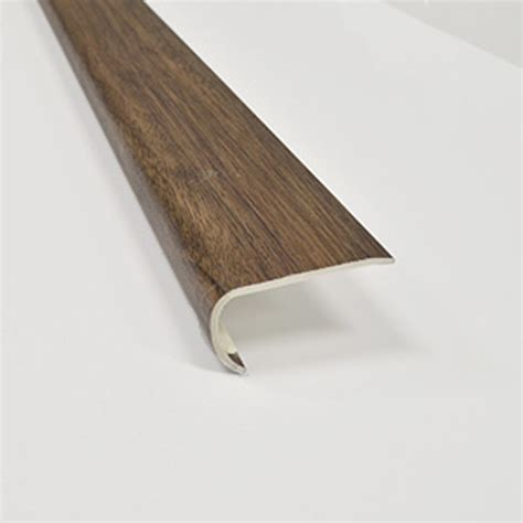 Vinyl Plank Flooring Stair Nose by Shop Smartcore By Floors 2 In X 94 In Tahitian