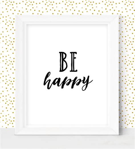 be happy home decor sign instant printable market