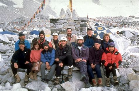 1996 everest film expedition rob hall everest expedition 1996 team everest