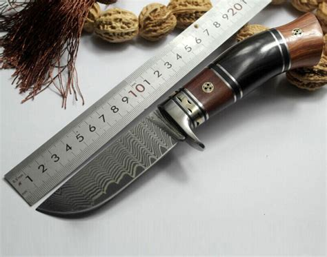 handmade tactical knives high carbon steel fixed blade knife handmade