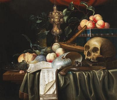 Des Vanités by File Joris A Vanitas Still With A Skull A