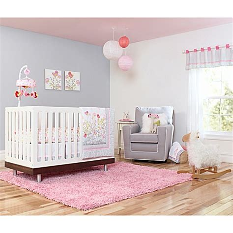 Just Born Crib Bedding Just Born 174 Botanica Crib Bedding Collection Buybuy Baby