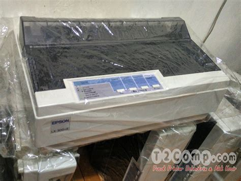 Bekas Printer Epson Lx 300 Ii jual printer dot matrix epson lx300 ii lx 300 ii t2comp