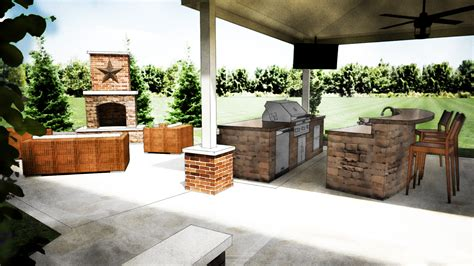 outdoor kitchen island designs outdoor kitchen design grills pizza ovens columbus cincinnati and dayton ohio two