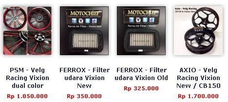 Lu Led Buat Vixion daftar harga aksesoris variasi new vixion terbaru