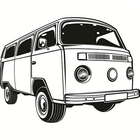 volkswagen van with surfboard clipart vw bus clipart jaxstorm realverse us