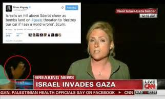 Cnn Reporter Calls Israelis Who Gathered To Watch Gaza | cnn reporter calls israelis who gathered to watch gaza