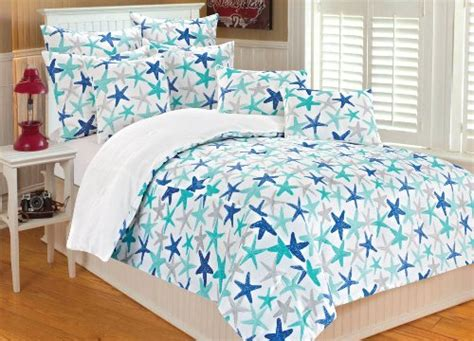 starfish bedding thro by marlo lorenz 6071 atlantis watercolor starfish 86 by 86 inch microplush