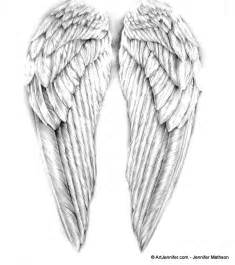 angel wings drawing artjennifer projects to try