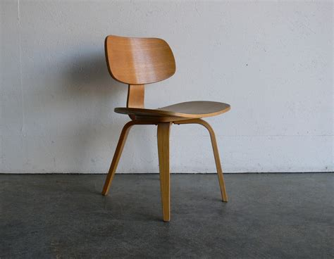 Plywood Chairs by Mid Century Thonet Plywood Chair