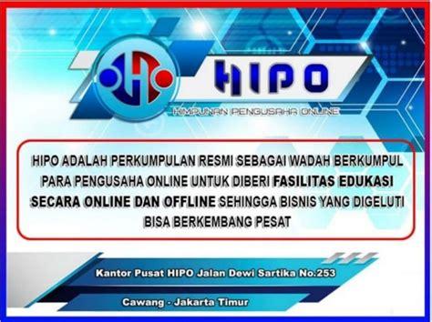 hipo himpunan pengusaha  indonesia seputar bisnis