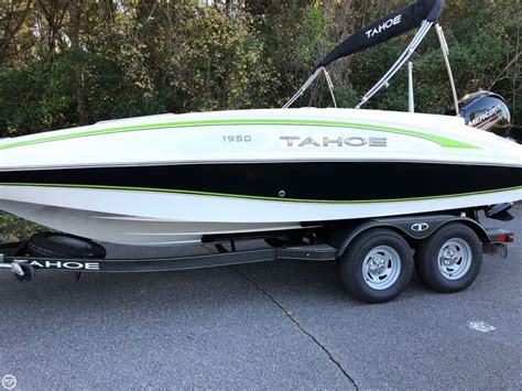 Tahoe Deck Boat For Sale Craigslist by Tahoe New And Used Boats For Sale In Florida