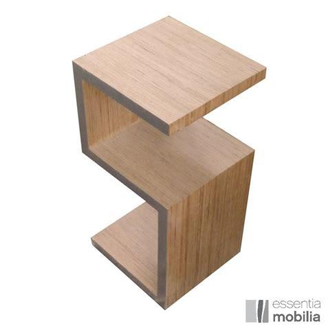 la table de nuit table de chevet design en bois or ou argent essentia mobilia