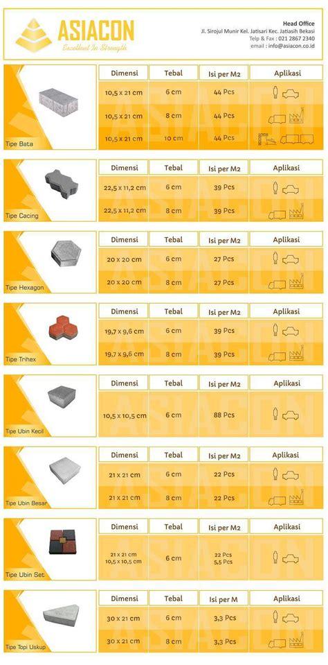 Multimeter Murah harga paving block k 300 2017 ukuran konblok jual