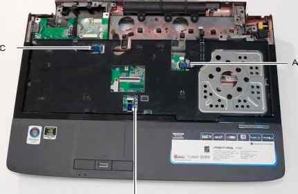reset bios aspire one replacing the upper cover acer aspire 6930 6930g